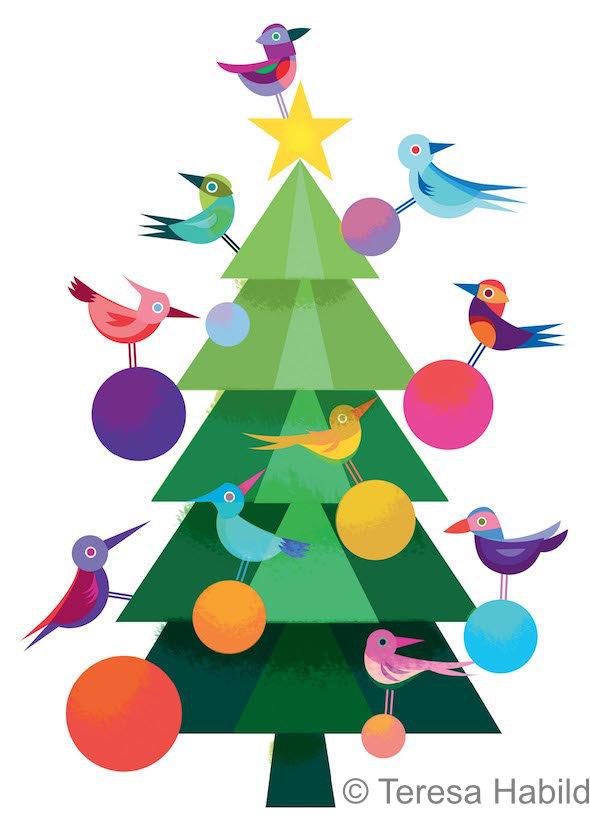 Weihnachtsbaum © Teresa Habild